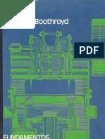 Fundamentos Del Corte de Metales y de Las Maquinas-herramienta - Geoffrey Boothrotd