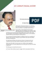 Mqm Against Corrupt Feudal System
