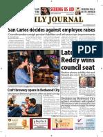 San Mateo Daily Journal 11-28-18 Edition