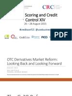 OTC Derivatives Market Reform Looking Back and Looking Forward Erik Heitfield