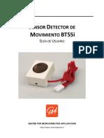 SENSOR DETECTOR DE MOVIMIENTO BT55i