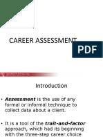 Career Assessment Zaida