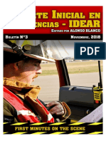 Reporte Inicial en Emergencias - IDEAR by Alonso Blanco