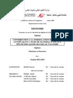 Contribution a La Formulation d'Un Beton Autoplaçant a Base de Materiaux Locaux Effet Du Laitier Granulé Micronisé Sur l'Ouvrabilité