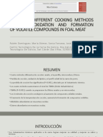 Effect of Different Cooking Methods on Lipid Oxidation