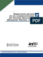 Reglamento Escuelas Tecnicas Inet