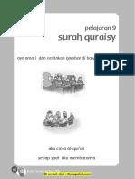 Pelajaran 9 Surah Qraisy
