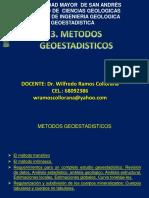 METODOS GEOESTADISTICOS