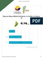 Resultados Calculadora Huella Ecológica Mishel