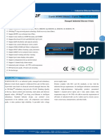 IT ES5024 IM 12F Datasheet - INDUSTRIAL ETHERNET MANAGED SWITCHES