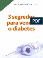 3 Segredos Para Vencer o Diabetes