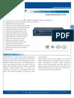 IT ES5024 IM 4F Datasheet - INDUSTRIAL ETHERNET MANAGED SWITCHES