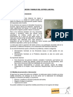 Prevencion y Manejo Del Estrés Laboral