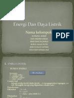 Energi Dan Daya Listrik