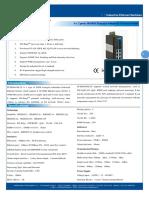IT ES608 IM 2F Datasheet - INDUSTRIAL ETHERNET MANAGED SWITCHES
