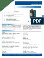 IT ES608 IM 4F Datasheet - INDUSTRIAL ETHERNET MANAGED SWITCHES