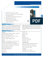 IT ES608 IM Datasheet - INDUSTRIAL ETHERNET MANAGED SWITCHES