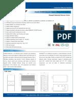 IT ES6116 IM 6F Datasheet - INDUSTRIAL ETHERNET MANAGED SWITCHES