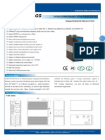 It Es7120 Im 4gs Datasheet - INDUSTRIAL ETHERNET MANAGED SWITCHES