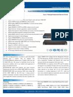 IT ICS5028G IM Series Datasheet - INDUSTRIAL ETHERNET MANAGED SWITCHES