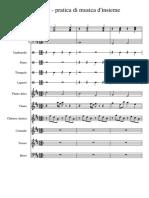 Esercizio - Pratica Di Musica d'Insieme