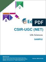 Sample Theory - CSIR NET LS (Post Transcription Modification) (UNIT-3)