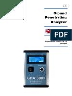 ground penetrating analyzer