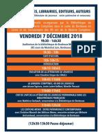 Programme Journée Pro Jeunesse 7-12-2018