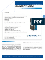 It Es618 Im 2f 4d Rs 232 p 12 48vdc Datasheet - INDUSTRIAL ETHERNET MANAGED SWITCHES