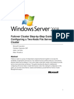 Failover Cluster Step-by-Step Guide - Configuring a Two-Node File Server Failover Cluster.doc