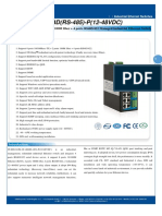 It Es618 Im 2f 4d Rs 485 p 12 48vdc Datasheet - INDUSTRIAL ETHERNET MANAGED SWITCHES