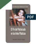 FIN DEL PATRIARCADO EN LAS ARTES PLÁSTICAS