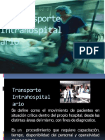 transporte intrahospitalario