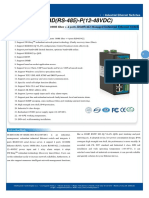 It Es618 Im 4f 4d Rs 485 p 12 48vdc Datasheet - INDUSTRIAL ETHERNET MANAGED SWITCHES