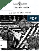 Sergi Giuseppe - La Idea De La Edad Media.pdf
