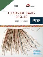 Cuentas Nacionales de Salud 1995-2012