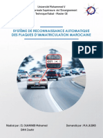 SYSTÈME DE RECONNAISSANCE AUTOMATIQUE DES PLAQUES D'IMMATRICULATION MAROCAINE