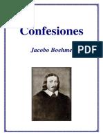 Boehme - Confesiones