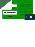 KARTU ROHANIAWAN