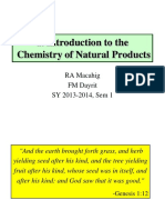010 Introduction to Natural Products Chemistry