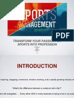 Sports Management 1