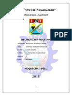 Motor Diesel y Generador Sincrono Monografia