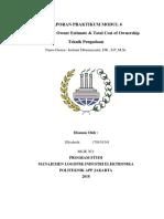 Laporan Teknik Pengadaan Mengenai HPS dan TCOO
