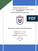 Psicologia Clinica Infanto-Juvenil