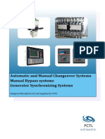 Automatic and Manual Changeover Systems