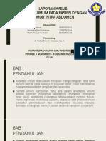 ppt laporan anastesi
