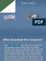 Presentation about Planes