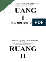 Copy of No Ruangan