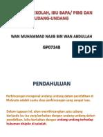 Presentation NAJIB SEM 1