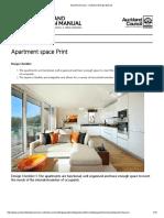 Apartment Space - Auckland Design Manual